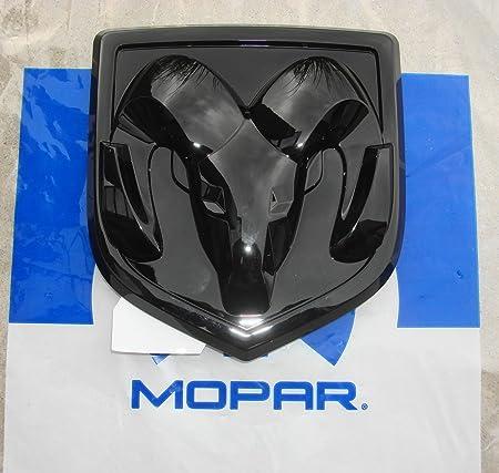 dodge tailgate emblem NEW 1-1 Dodge Ram 1-1 Black Tailgate Emblem / Logo, OEM Mopar!  by Mopar