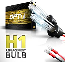 OPT7 2pc Bolt AC H1 Replacement HID Bulbs [10000K Deep Blue] Xenon Light