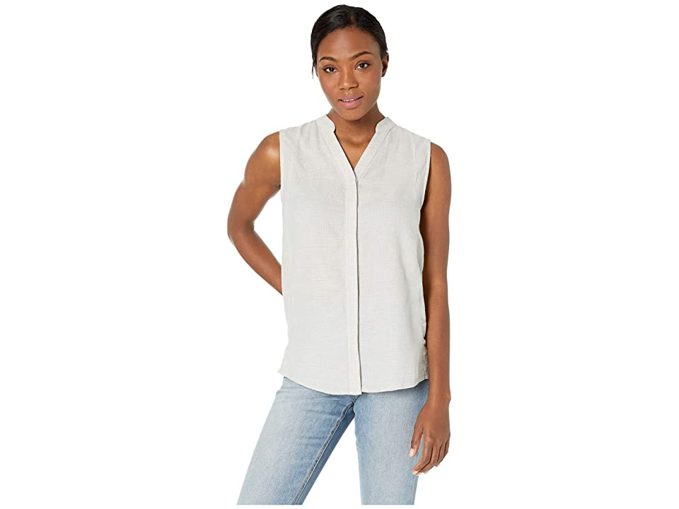 NAU Aere Sleeveless Shirt (Zinc Check) Women