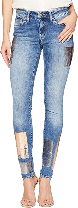 Adriana Super Skinny in Galactic Patch Indigo