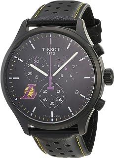 mens Tissot Chrono XL Stainless Steel Casual Watch Purple,Black T1166173605103