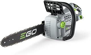 EGO Power+ CS1400 14-Inch 56-Volt Lithium-Ion Cordless Chainsaw – Battery and..