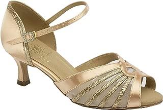 Supadance Style 1534 Chaussures de Danse en Satin pour Femme Bout ferm/é