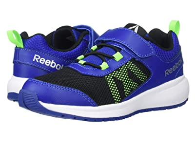 Reebok Kids Road Supreme Alt (Little Kid) (Cobalt/Black/Green/Silver) Boys Shoes