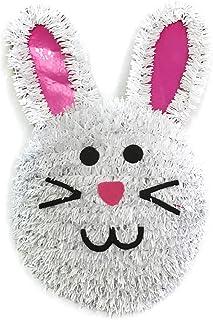 Brite Star Frame Tinsel, Bunny Face, White