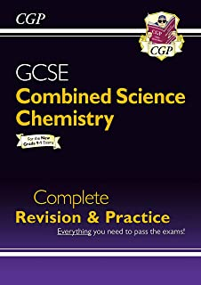New Grade 9-1 GCSE Combined Science: Chemistry Complete Revision & Practice (CGP GCSE Combined Science 9-1 Revision) (English Edition)