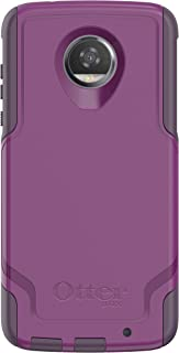 OtterBox COMMUTER SERIES for Moto Z2 Play - Retail Packaging - PLUM WAY (PLUM HAZE/NIGHT PURPLE)