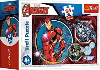 Trefl 19615 avengers Mini Puzzle for Boys, 54 Pieces