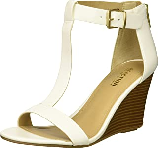 Women's 7 Ava Crave T-Strap Wedge Sandal