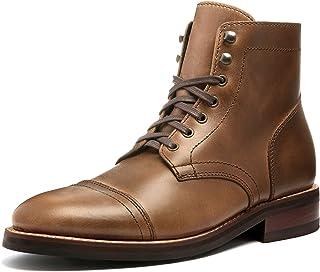 Thursday Boot Company Captain - Stivali da Uomo con Lacci, Marrone (Naturale), 40 2/3 EU