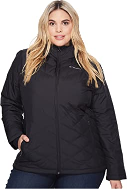 ebb9d8454b2 Ivanka trump down coat with cinched in sides and faux fur hood black ...