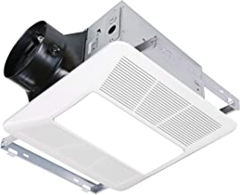 KAZE APPLIANCE Ultra Quiet Bathroom Exhaust Fan with LED Light and Night Light (120 CFM, 0.3 Sone, Easy Install)