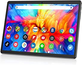 Tablet 10 Inch, Dual SIM Android 9.0 Quad Core Processor...