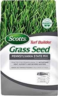 Scotts Turf Builder Grass Seed - Pennsylvania State Mix, 7-Pound (Not Sold in CA, LA)