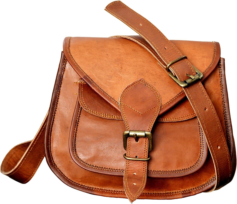 Small Leather Purse Women Shoulder Bag Satchel Ladies Tote Travel Purse Genuine Leather