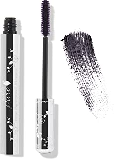 100% PURE Fruit Pigmented Ultra Lengthening Mascara, Blackberry, 0.35oz, Purple Mascara for Natural Lash Extension, Smudge-Proof Mascara for strengthening, thickening and lengthening - Purple
