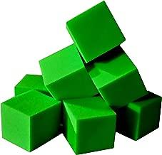 Isellfoam Foam Pits Blocks/Cubes 20 pcs. (Lime Green) 5
