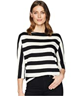 Striped Slub Jersey T-Shirt