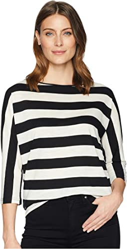 Striped Slub Jersey T-Shirt