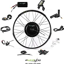 EBIKELING 48V 1200W 700C Direct Drive Waterproof Electric Bicycle Conversion Kit (Front or Rear Wheel Ebike Conversion Kit)