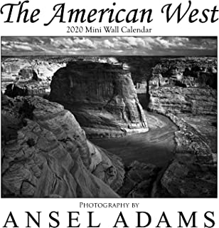 Ansel Adams 2020 Mini Wall Calendar - A 12-month calendar with black & white nature and landscape photography of the American West