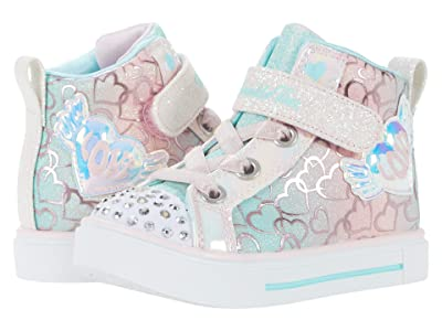 SKECHERS KIDS Twinkle Toes Lighted High-Top Twinkle Sparks Magic-Tastic 314794N (Toddler)