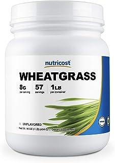 Nutricost Wheatgrass Powder 1 LB - Non GMO, Superfood