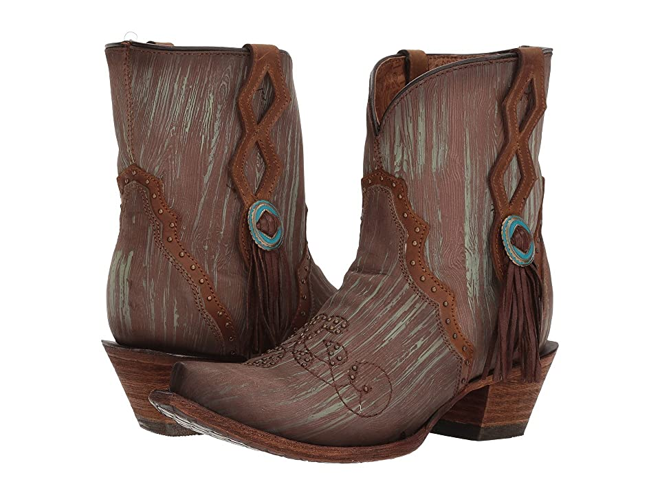 Corral Boots C3292 (Turquoise/Brown) Women