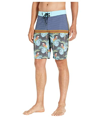 Hurley 18 Phantom Sierra Boardshorts (Obsidian) Men