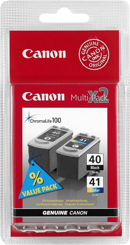 Canon Tintenpatrone Pg 40 Cl 41 Multipack C M Y 16 Ml 12ml Original Für Tintenstrahldrucker Bürobedarf Schreibwaren