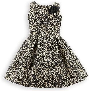 Catherine Cottage 発表会 結婚式 七五三 フォーマル 子供 ドレス ローズ織りジャガード ドレス PC631
