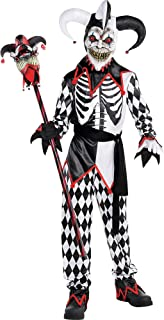 Amscan Sinister Jester Child Clown Costume