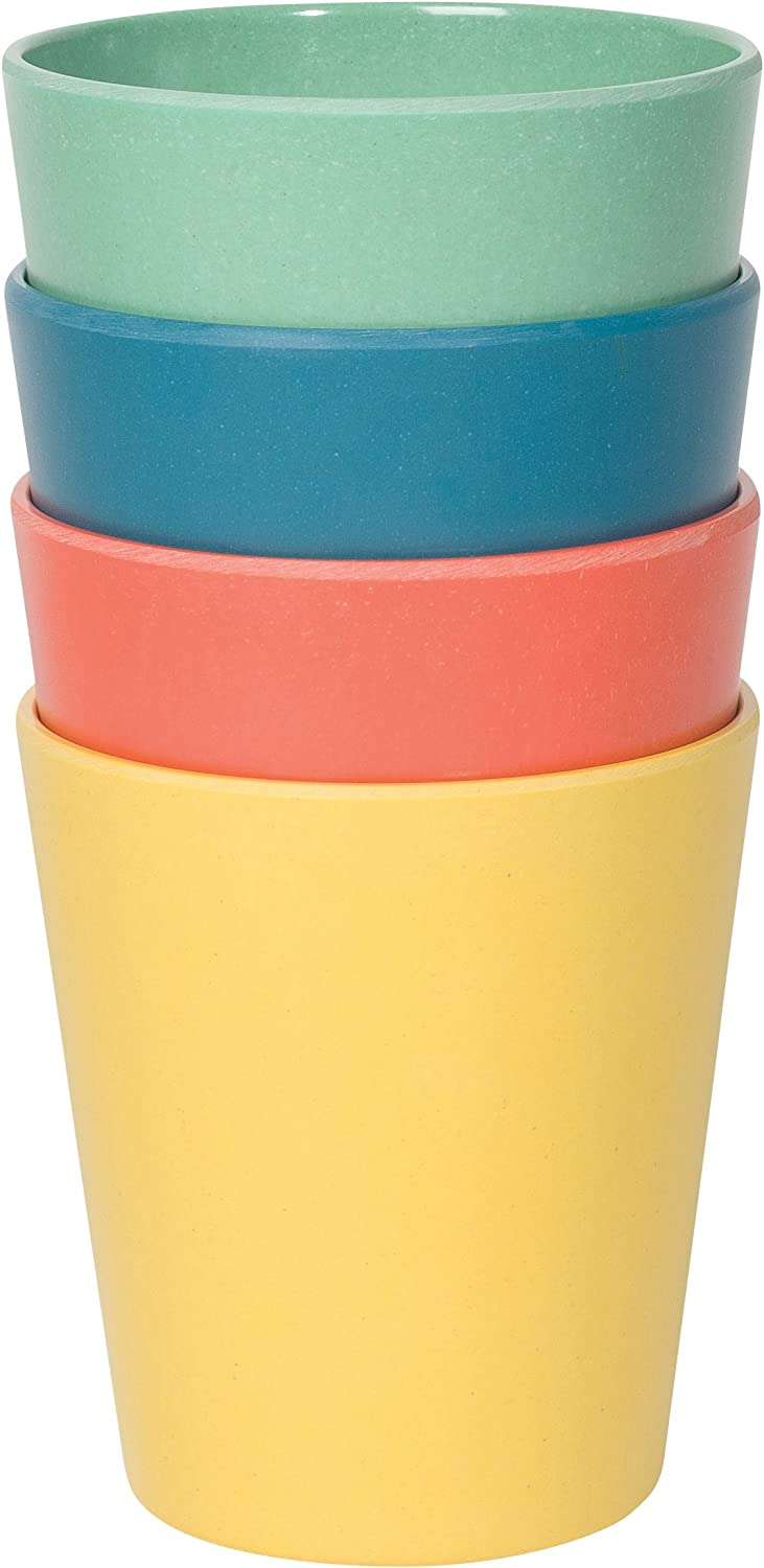 Now Designs Ecologie Small 1 year warranty Dinner Cups Four of Fiesta Set Colo Free shipping on posting reviews