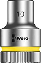 Wera 5003601001 Zyklop 8790 HMC 1.2 Socket, Hex head 10 mm x Length 37 mm
