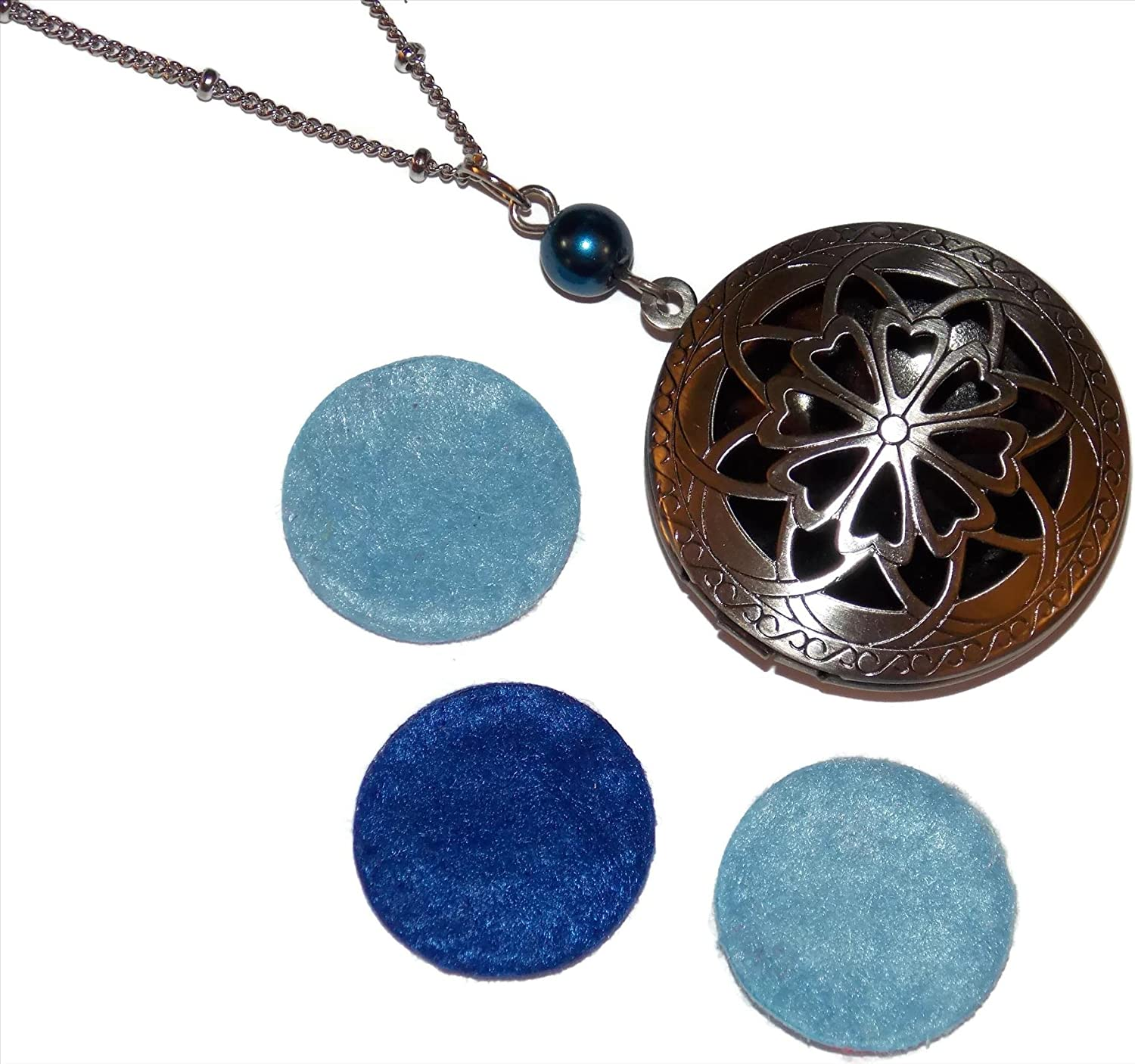 Old Max 88% OFF Ranking TOP19 School Geekery Diffuser Locket Necklace Ornate Grea Filigree