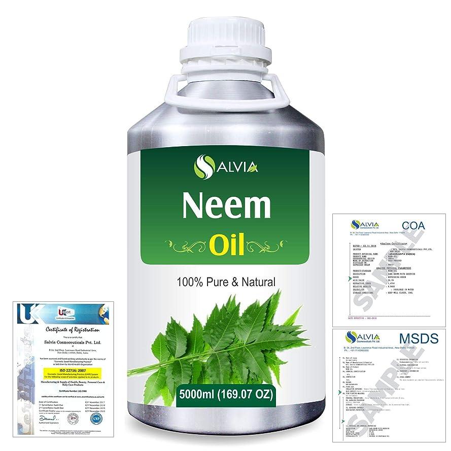 アデレード化石ハロウィンNeem (Azadirachta indica) 100% Natural Pure Essential Oil 5000ml/169fl.oz.