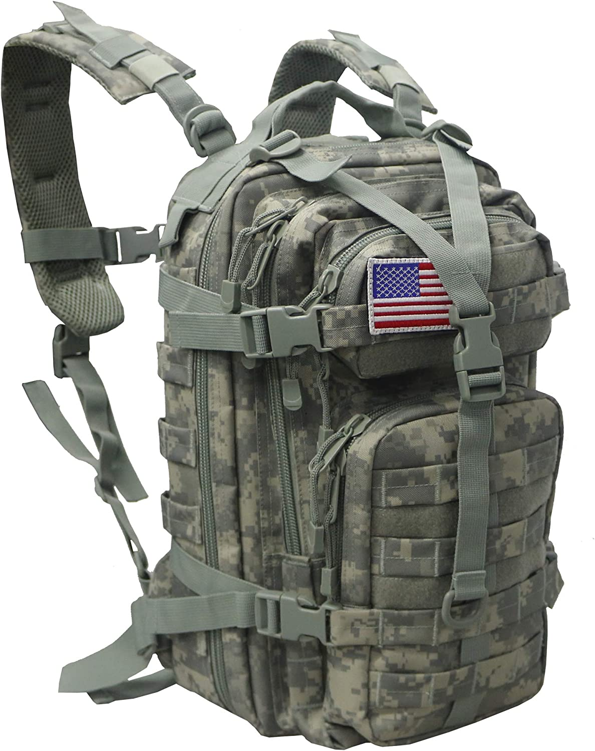 Small 30L Rucksack Military Tactical Industry No. 1 Flag Outdoor Backpack Omaha Mall Patch