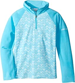 Glacial™ II Fleece Print Half Zip (Little Kids/Big Kids)