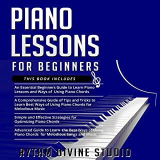 Piano Lessons for Beginners: 4 in 1- Beginner's Guid
