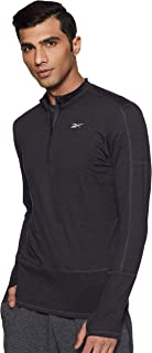Reebok Men's Re Quarter Zip Sweatshirt