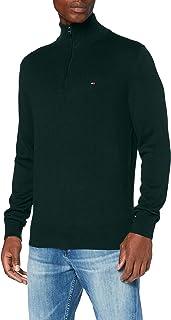 Tommy Hilfiger Men's Organic Cotton Blend Zip Mock Sweater