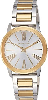 Michael Kors Hartman Watch for Women - Analog Stainless Steel Band