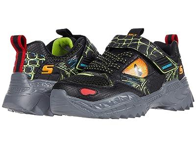 SKECHERS KIDS Sport Skech-O-Saurus 402235L (Little Kid/Big Kid) (Black/Lime) Boy