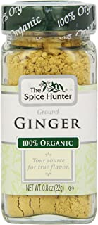 The Spice Hunter Ginger, Ground, Organic, 0.8-Ounce Jar