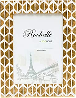 8x10 Picture Frame Gold - Lustrous Resin Photo Frames by EcoHome