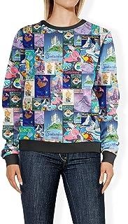 Rainbow Rules Fantasyland Disney Inspired Womens Sweatshirt - 2XL Blue