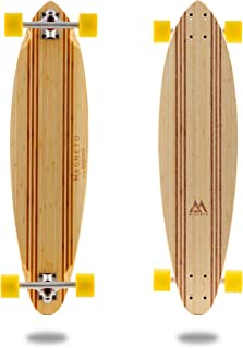 Laguna Longboard Collection | 36 inch Longboard Skateboards | Bamboo with Hard Maple Core | Cruising, Carving, Dancing, Freestyle …