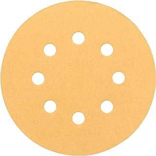 Bosch Professional Slipblad för excenterslipmaskin trä och färg (50 stycken, Ø 125 mm, korn 320, C470)