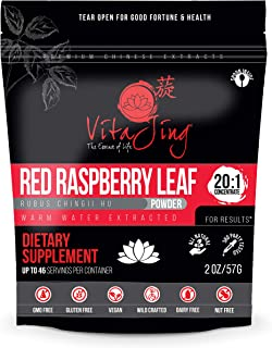 Red Raspberry Leaf Extract Powder 20:1 CONCENTRATION (2oz-57gm)