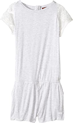 Romper with Lace Sleeve (Big Kids)